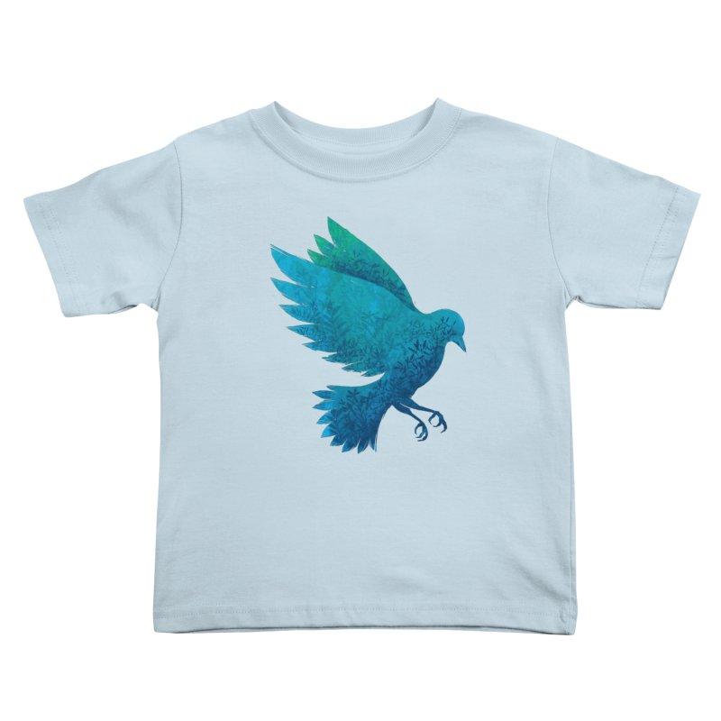 Birdy Bird Kids Toddler T-Shirt by Fil Gouvea's Artist Shop