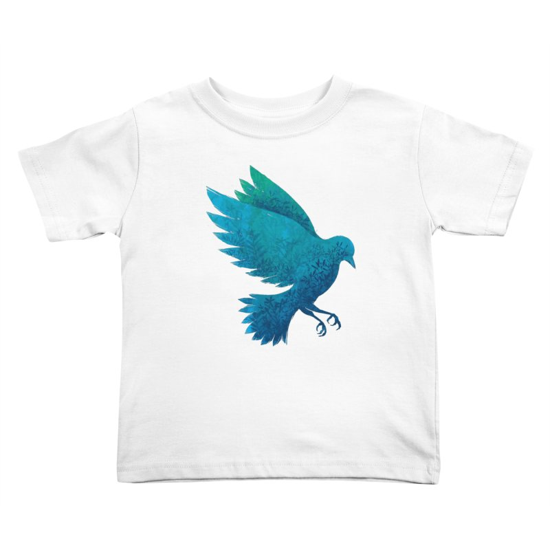 Birdy Bird Kids Toddler T-Shirt by Fil Gouvea's Artist Shop