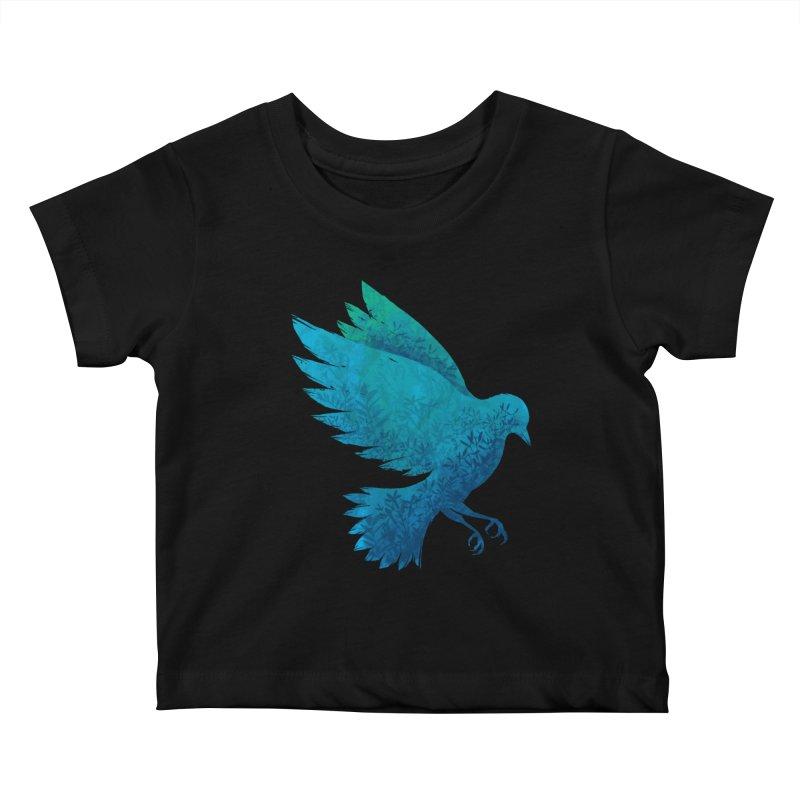 Birdy Bird Kids Baby T-Shirt by Fil Gouvea's Artist Shop