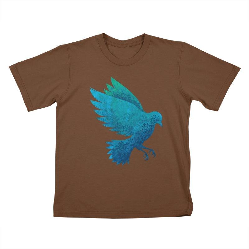 Birdy Bird Kids T-Shirt by Fil Gouvea's Artist Shop