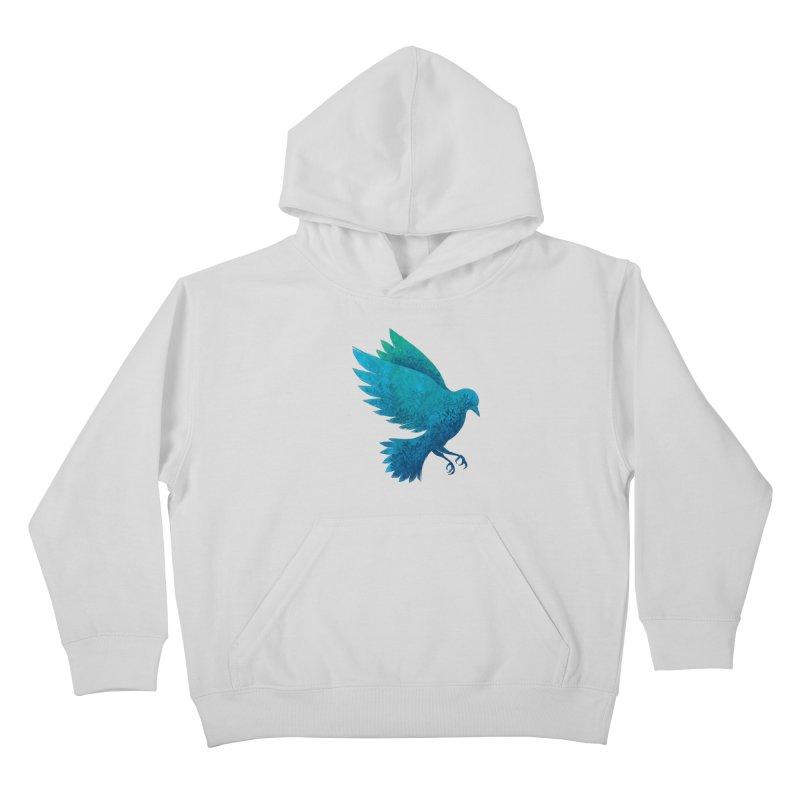 Birdy Bird Kids Pullover Hoody by Fil Gouvea's Artist Shop