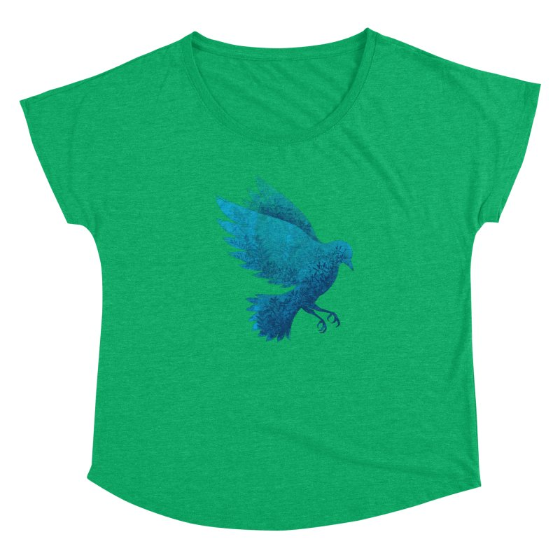 Birdy Bird Women's Dolman by Fil Gouvea's Artist Shop