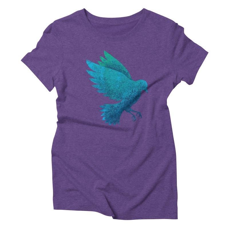 Birdy Bird Women's Triblend T-shirt by Fil Gouvea's Artist Shop