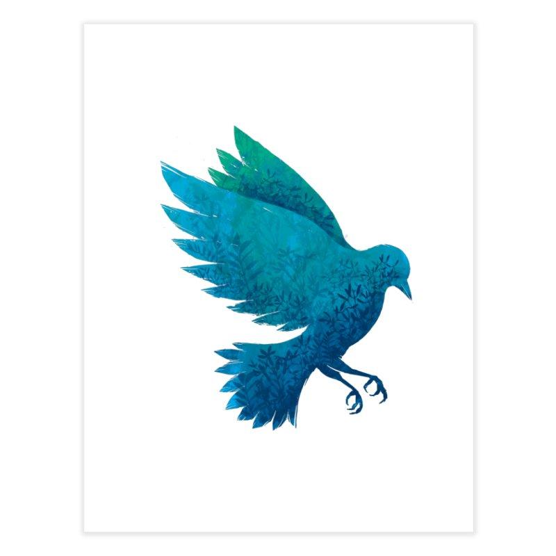 Birdy Bird Home Fine Art Print by Fil Gouvea's Artist Shop