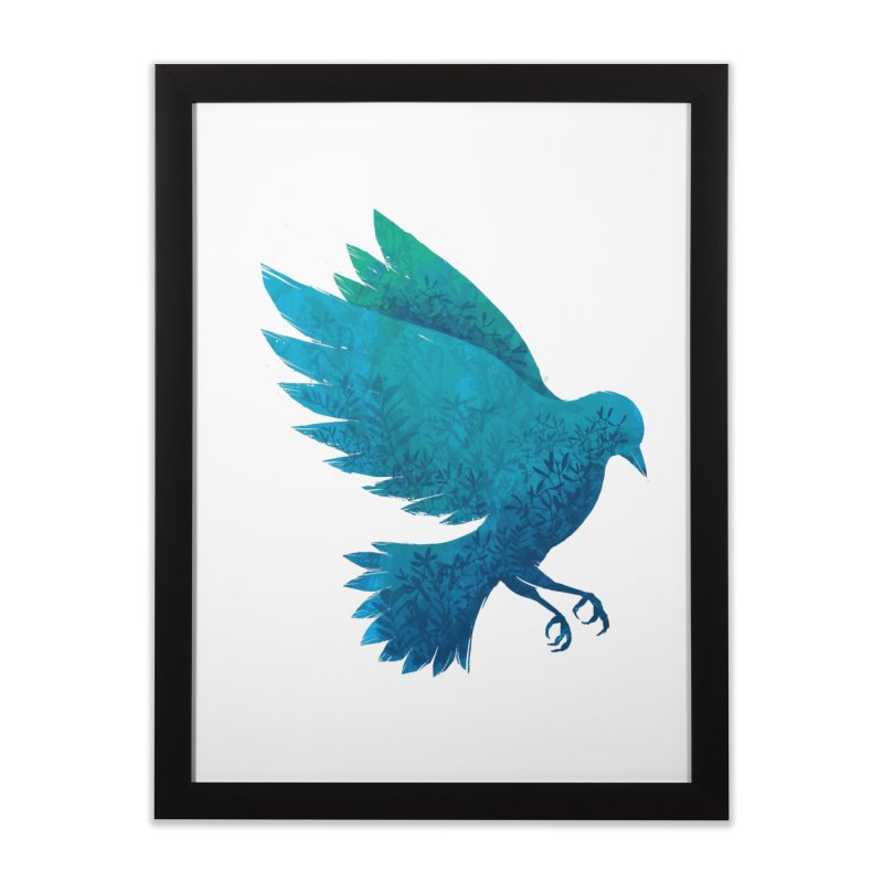 Birdy Bird Home Framed Fine Art Print by Fil Gouvea's Artist Shop