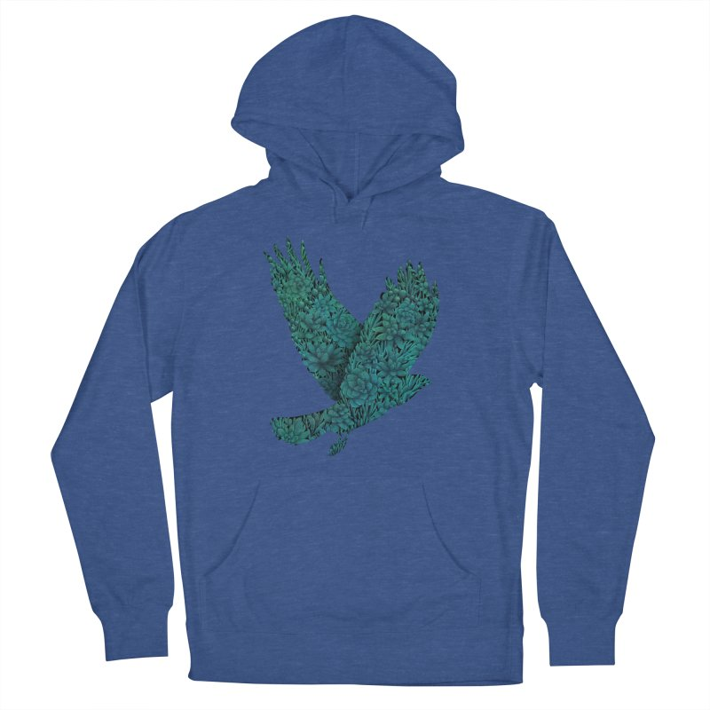 Blue Bird Men's Pullover Hoody by Fil Gouvea's Artist Shop