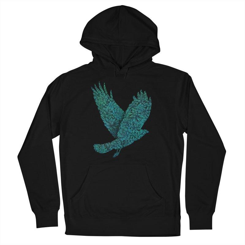 Blue Bird Men's Pullover Hoody by Fil Gouvea's Artist Shop