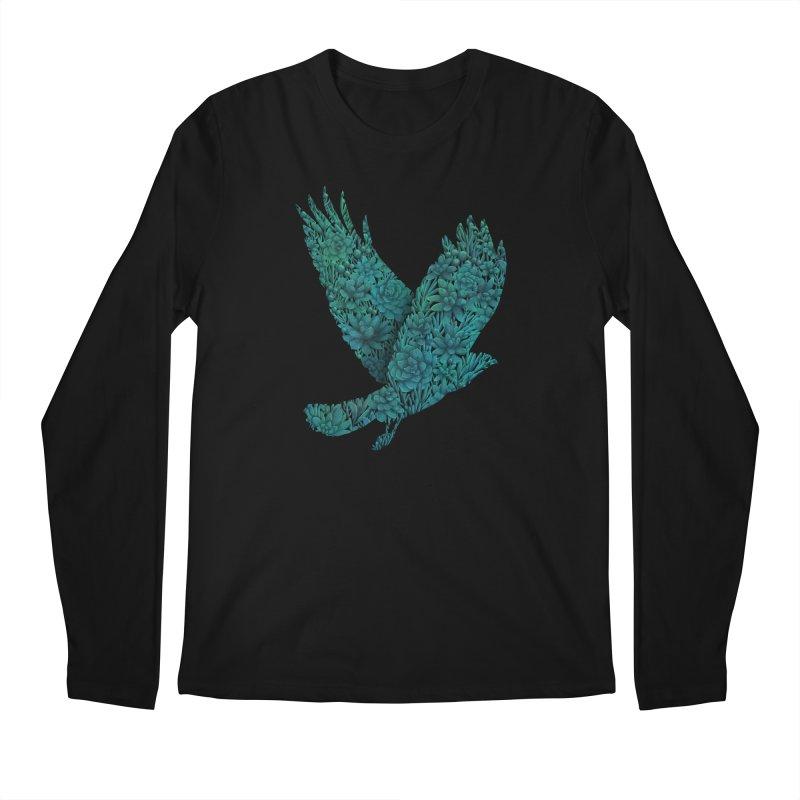 Blue Bird Men's Longsleeve T-Shirt by Fil Gouvea's Artist Shop