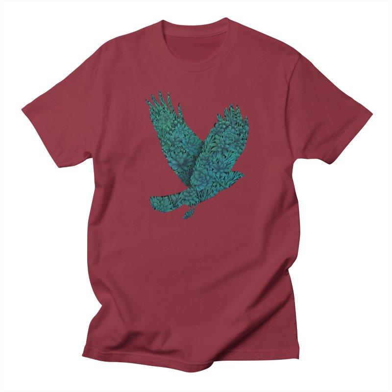 Blue Bird Men's T-shirt by Fil Gouvea's Artist Shop