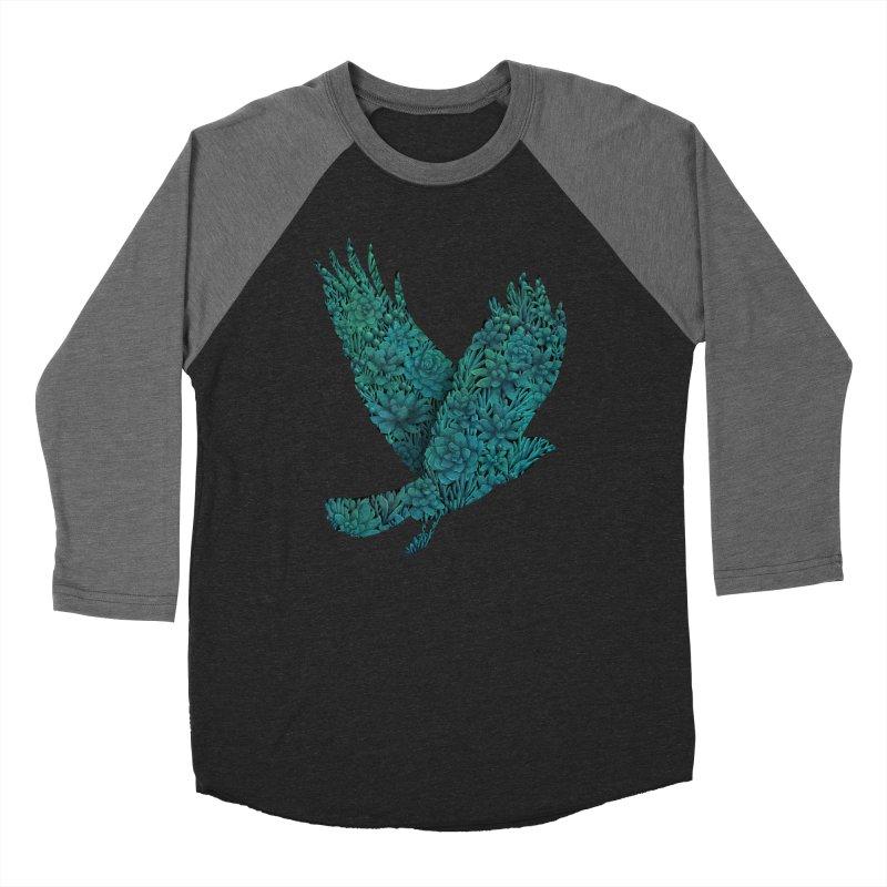 Blue Bird Women's Baseball Triblend T-Shirt by Fil Gouvea's Artist Shop