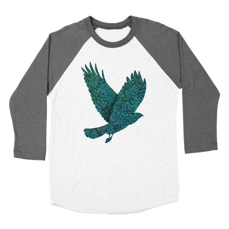 Blue Bird Men's Baseball Triblend T-Shirt by Fil Gouvea's Artist Shop