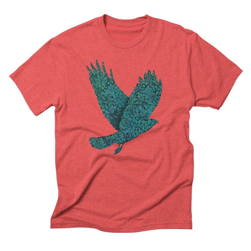 Blue Bird Men's Triblend T-shirt by Fil Gouvea's Artist Shop