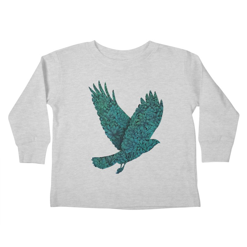 Blue Bird Kids Toddler Longsleeve T-Shirt by Fil Gouvea's Artist Shop