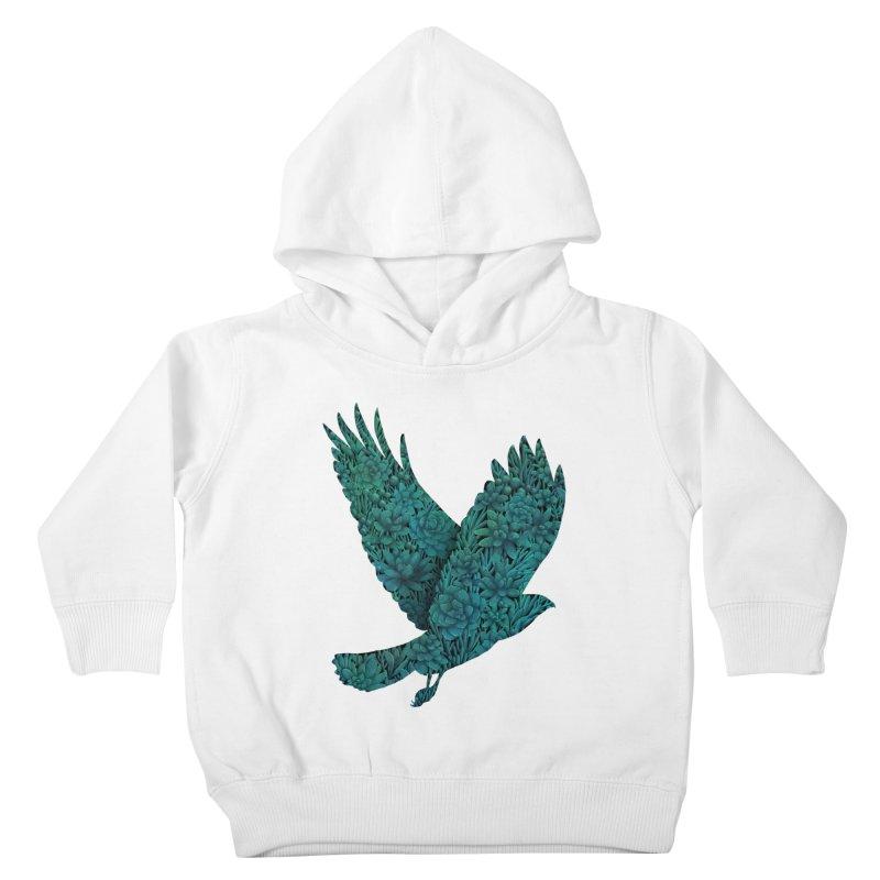 Blue Bird Kids Toddler Pullover Hoody by Fil Gouvea's Artist Shop