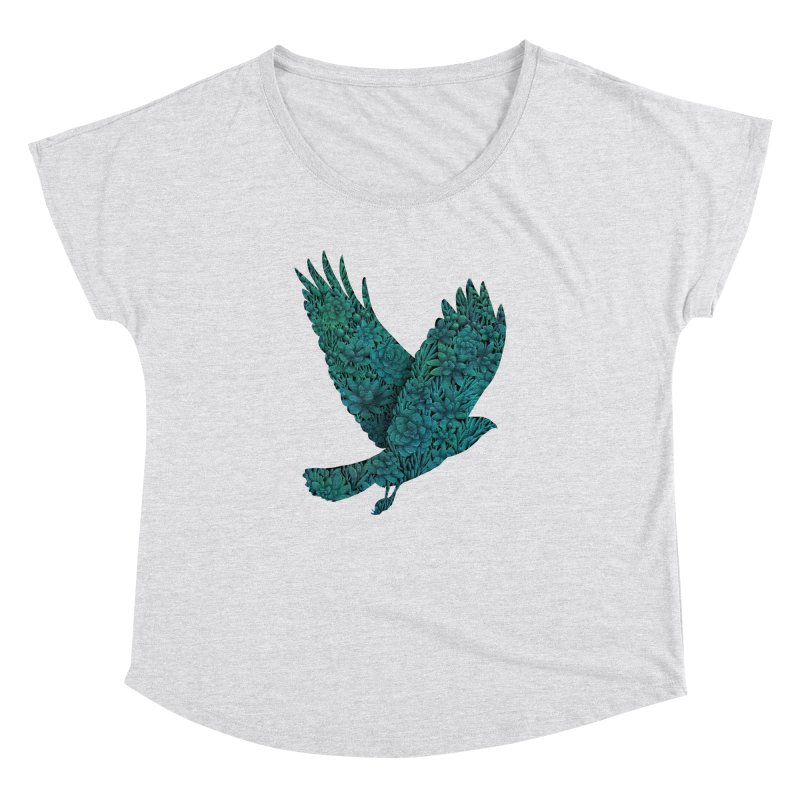 Blue Bird Women's Dolman by Fil Gouvea's Artist Shop