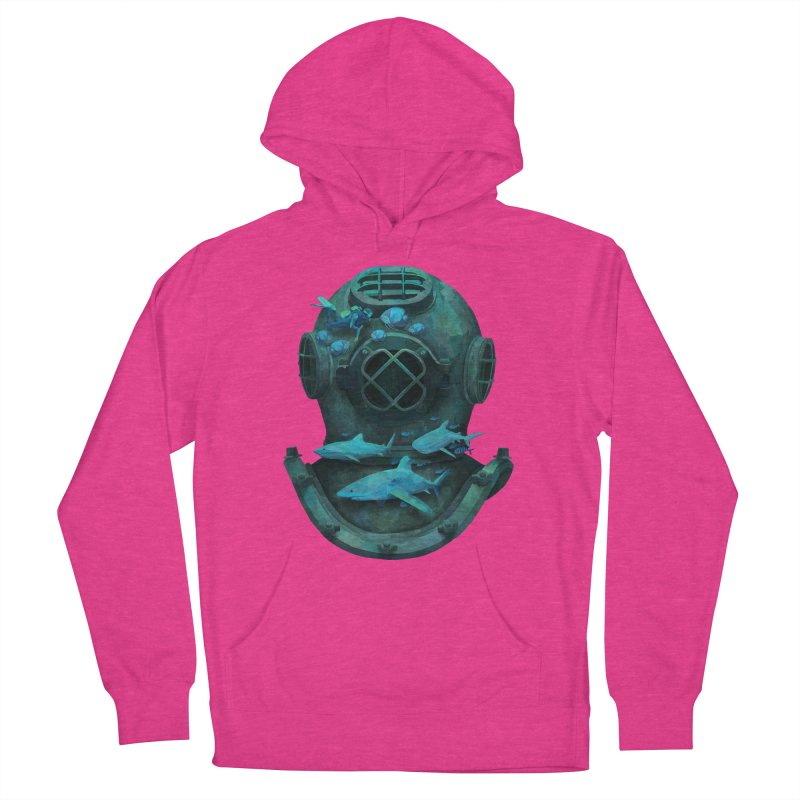 Deep Diving Men's Pullover Hoody by Fil Gouvea's Artist Shop