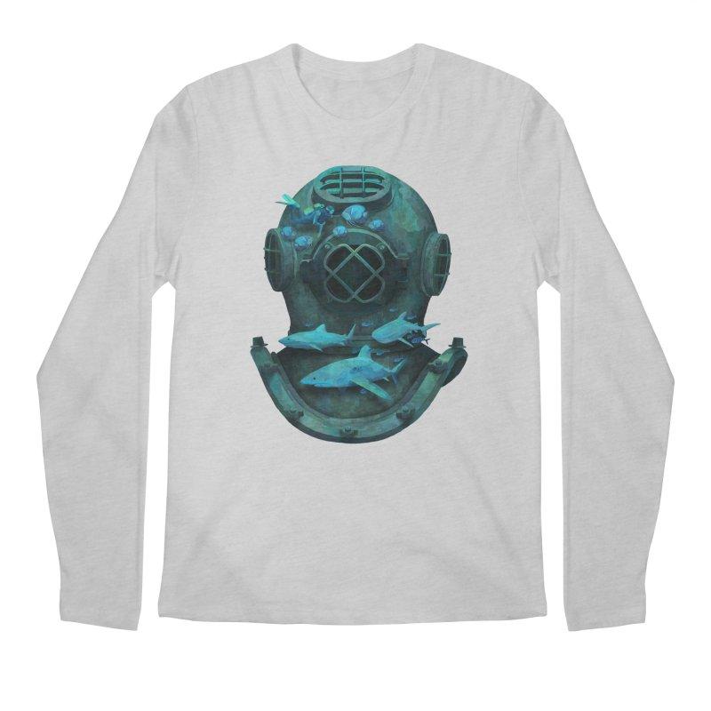 Deep Diving Men's Longsleeve T-Shirt by Fil Gouvea's Artist Shop