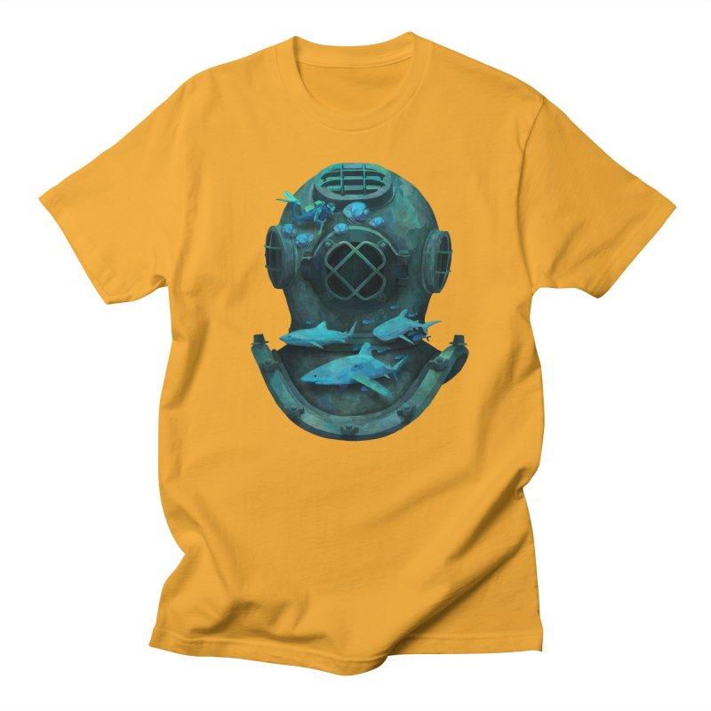 Deep Diving Men's T-Shirt by Fil Gouvea's Artist Shop