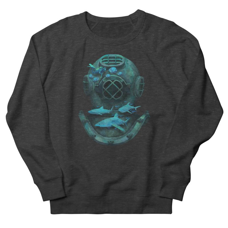 Deep Diving Women's Sweatshirt by Fil Gouvea's Artist Shop