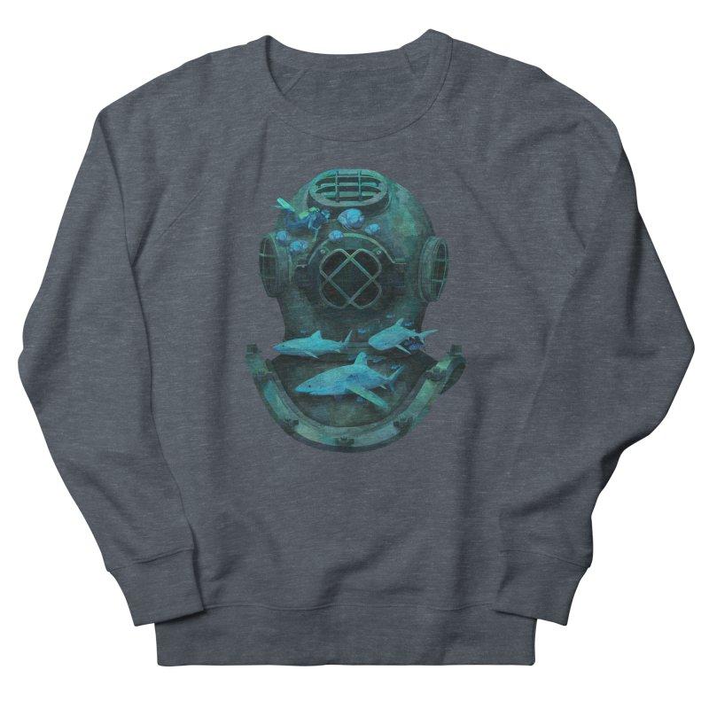 Deep Diving Women's Sweatshirt by Fil Gouvea's Artist Shop
