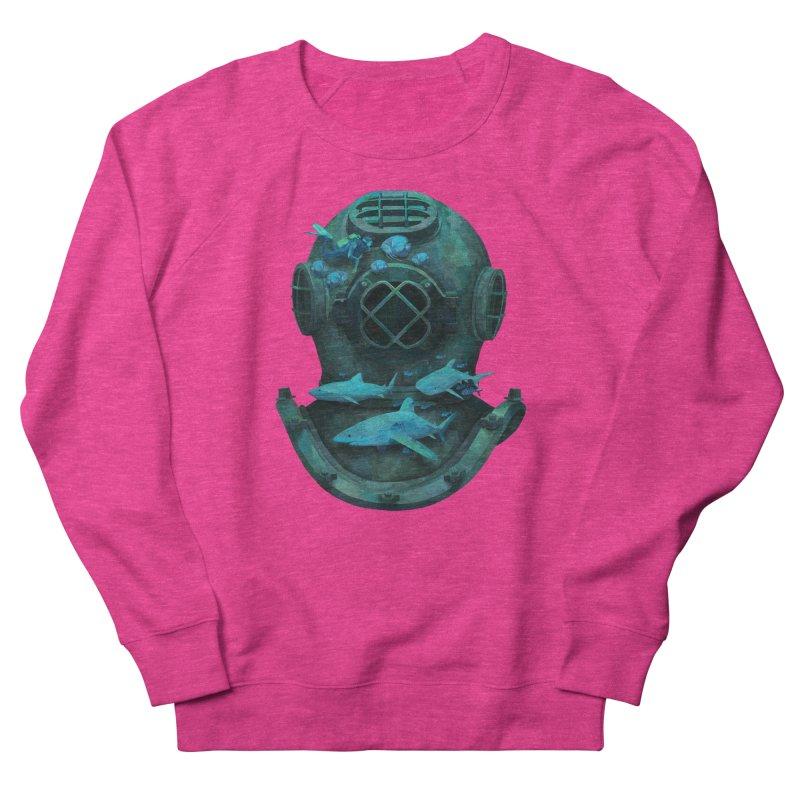 Deep Diving Men's Sweatshirt by Fil Gouvea's Artist Shop