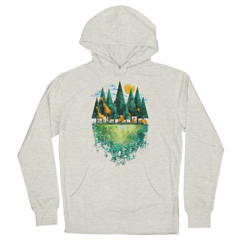 Geo Forest Men's Pullover Hoody by Fil Gouvea's Artist Shop