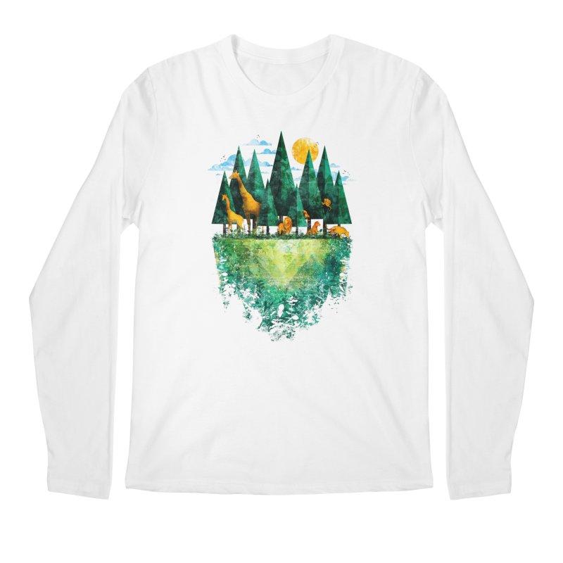 Geo Forest Men's Longsleeve T-Shirt by Fil Gouvea's Artist Shop