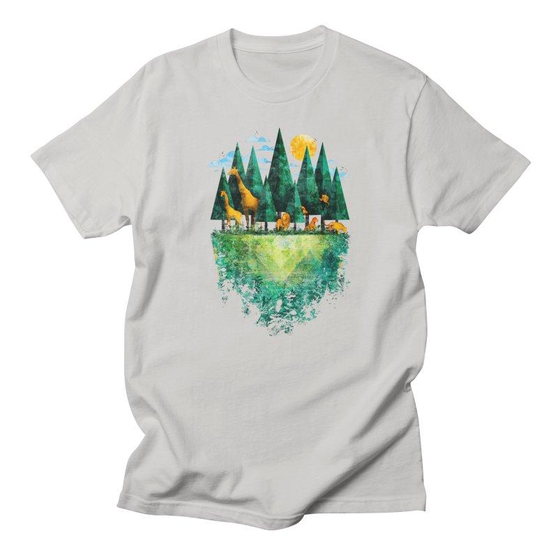 Geo Forest Men's T-Shirt by Fil Gouvea's Artist Shop