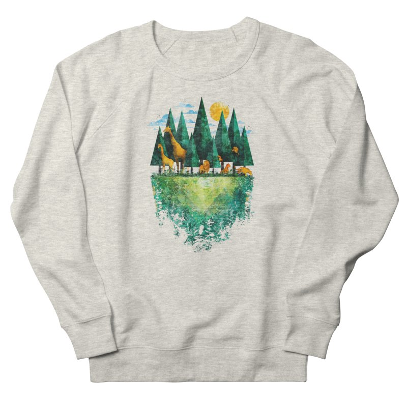 Geo Forest Men's Sweatshirt by Fil Gouvea's Artist Shop