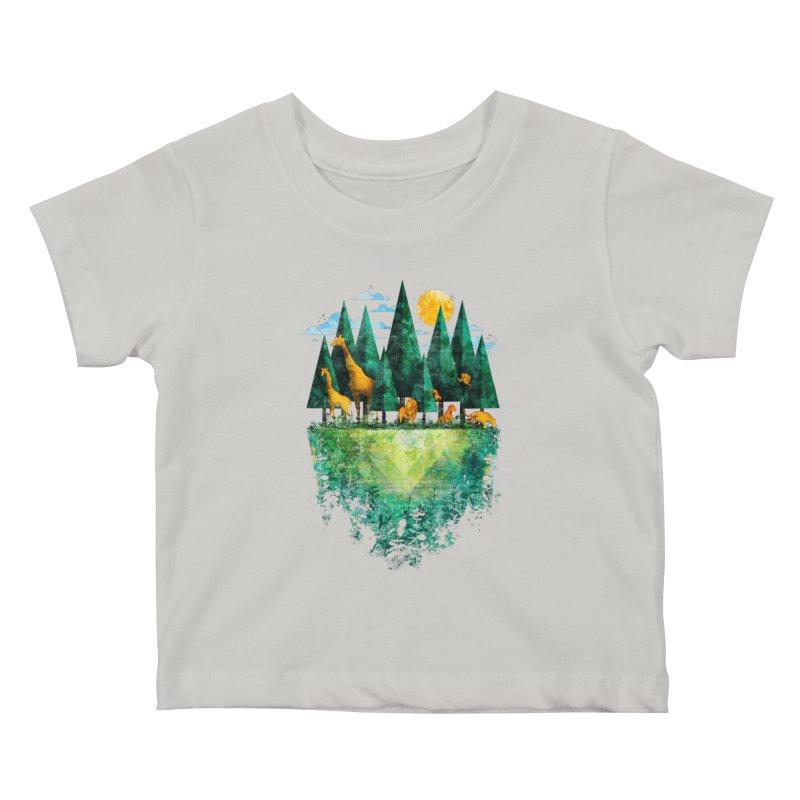 Geo Forest Kids Baby T-Shirt by Fil Gouvea's Artist Shop