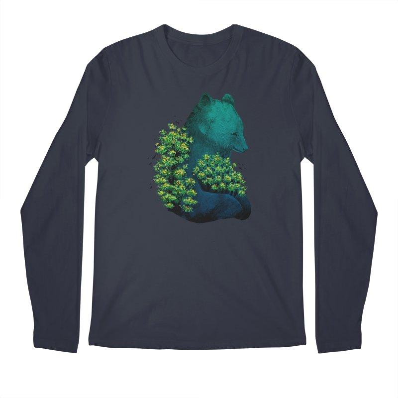 Nature's Embrace Men's Longsleeve T-Shirt by Fil Gouvea's Artist Shop