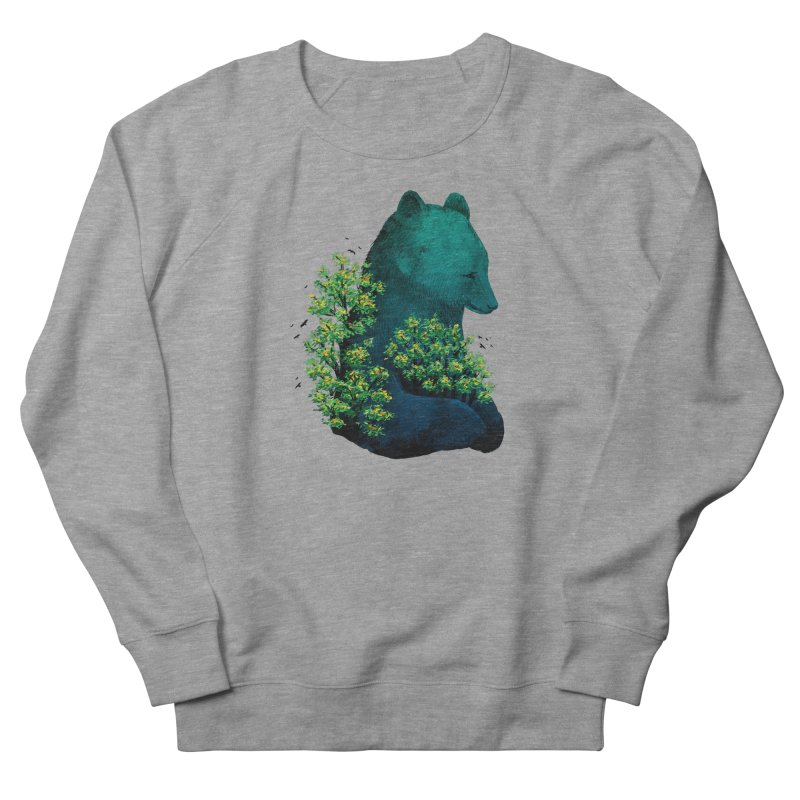 Nature's Embrace Men's Sweatshirt by Fil Gouvea's Artist Shop
