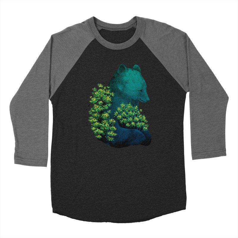 Nature's Embrace Men's Baseball Triblend T-Shirt by Fil Gouvea's Artist Shop