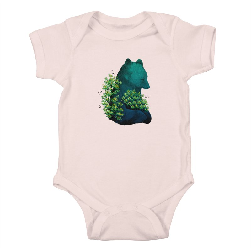 Nature's Embrace Kids Baby Bodysuit by Fil Gouvea's Artist Shop