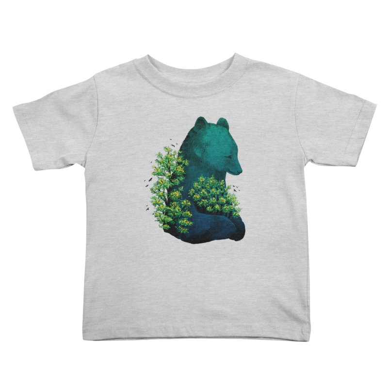 Nature's Embrace Kids Toddler T-Shirt by Fil Gouvea's Artist Shop