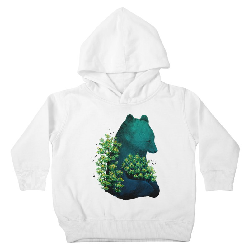 Nature's Embrace Kids Toddler Pullover Hoody by Fil Gouvea's Artist Shop