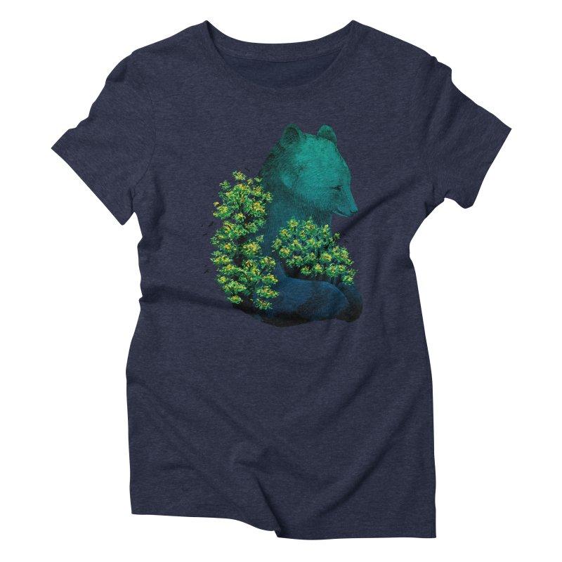 Nature's Embrace Women's Triblend T-shirt by Fil Gouvea's Artist Shop