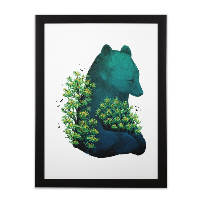 Nature's Embrace Home Framed Fine Art Print by Fil Gouvea's Artist Shop