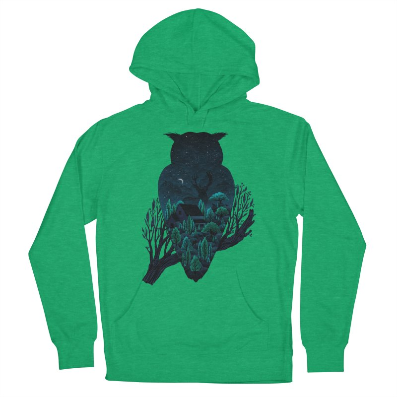 Owlscape Men's Pullover Hoody by Fil Gouvea's Artist Shop