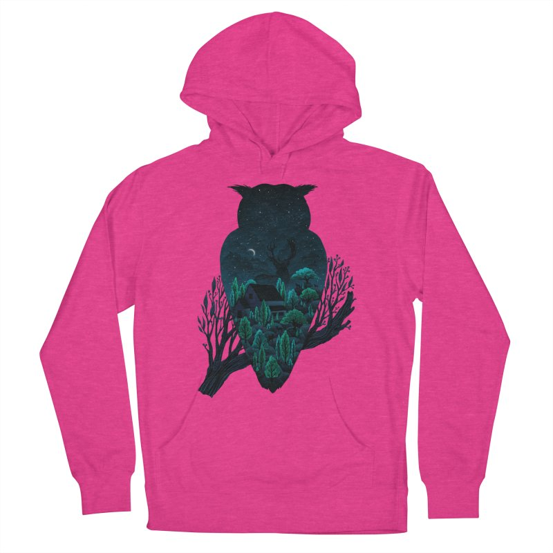 Owlscape Men's Pullover Hoody by Fil Gouvea's Artist Shop
