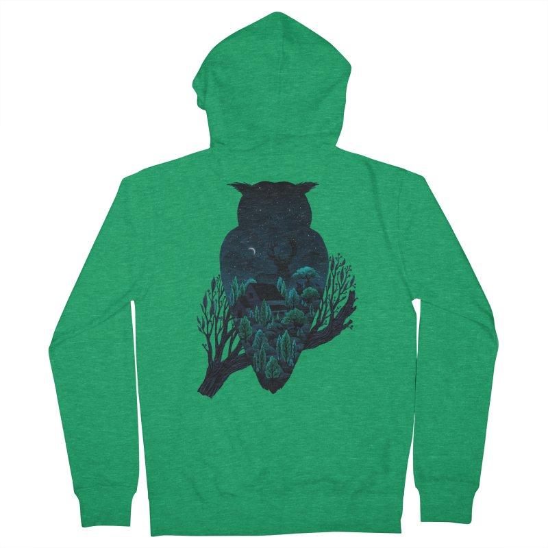 Owlscape Men's Zip-Up Hoody by Fil Gouvea's Artist Shop