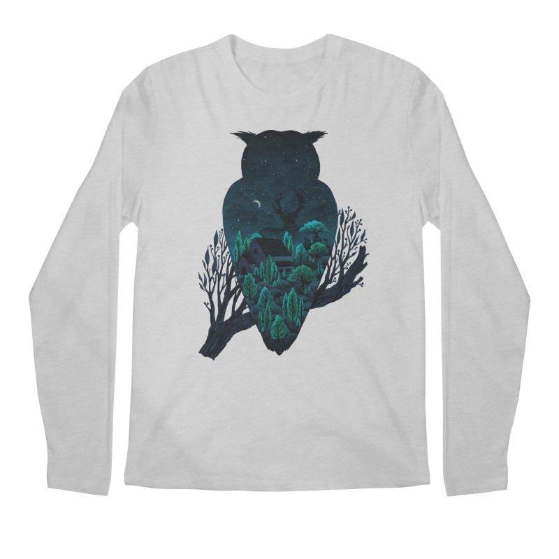 Owlscape Men's Longsleeve T-Shirt by Fil Gouvea's Artist Shop