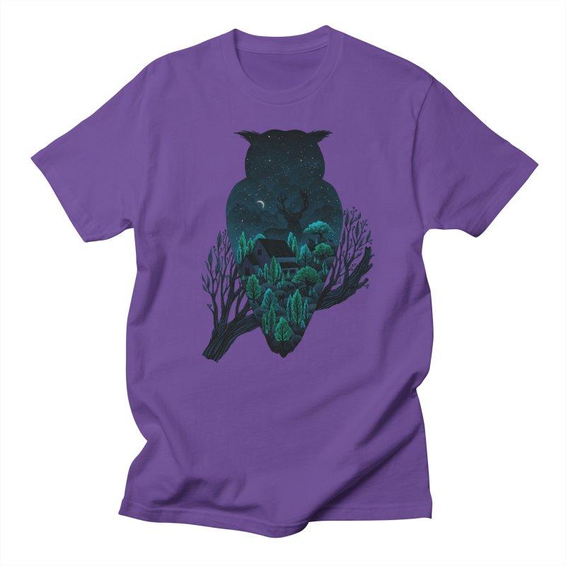 Owlscape Men's T-Shirt by Fil Gouvea's Artist Shop