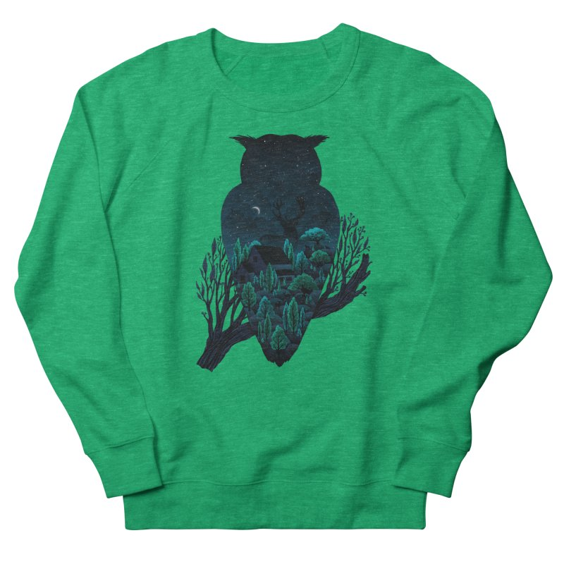 Owlscape Women's Sweatshirt by Fil Gouvea's Artist Shop