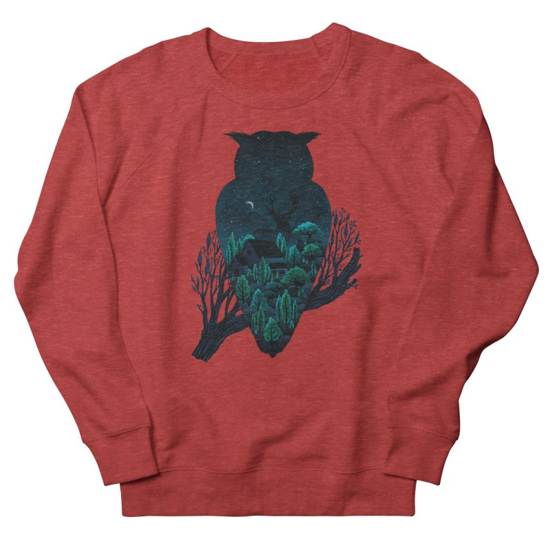Owlscape Men's Sweatshirt by Fil Gouvea's Artist Shop