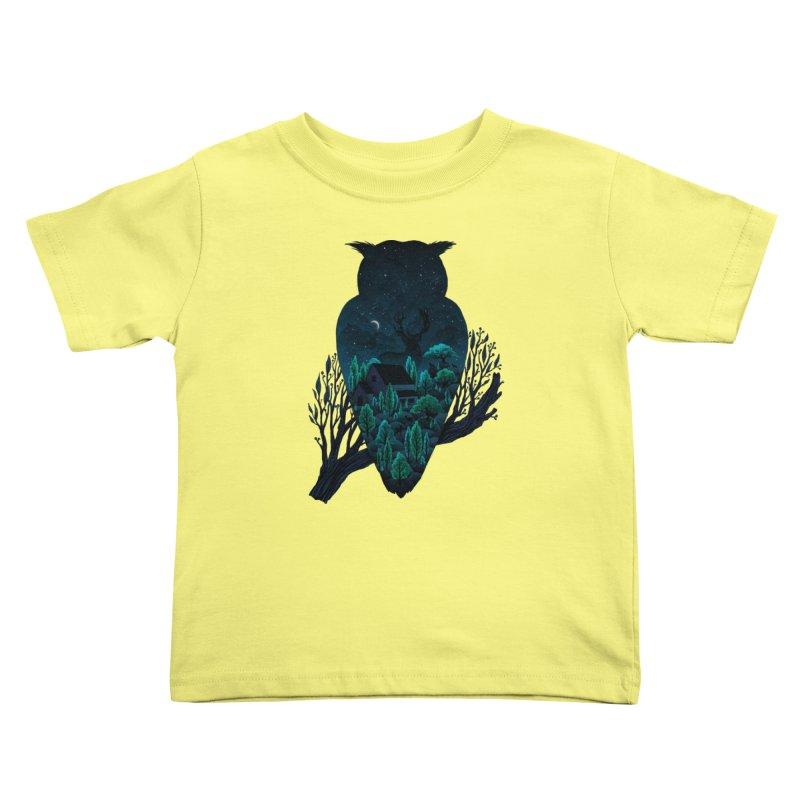 Owlscape Kids Toddler T-Shirt by Fil Gouvea's Artist Shop