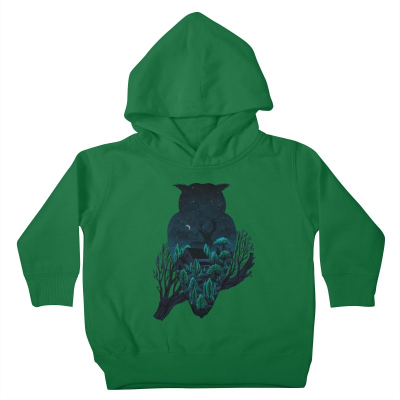 Owlscape Kids Toddler Pullover Hoody by Fil Gouvea's Artist Shop
