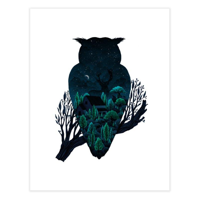Owlscape Home Fine Art Print by Fil Gouvea's Artist Shop