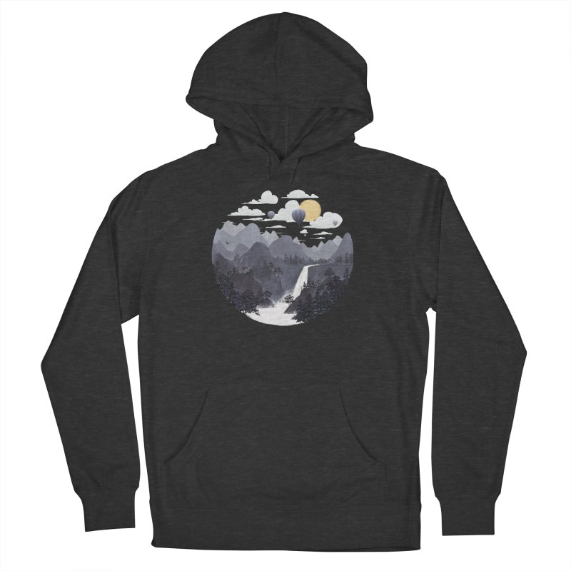 Roundscape II Men's Pullover Hoody by Fil Gouvea's Artist Shop