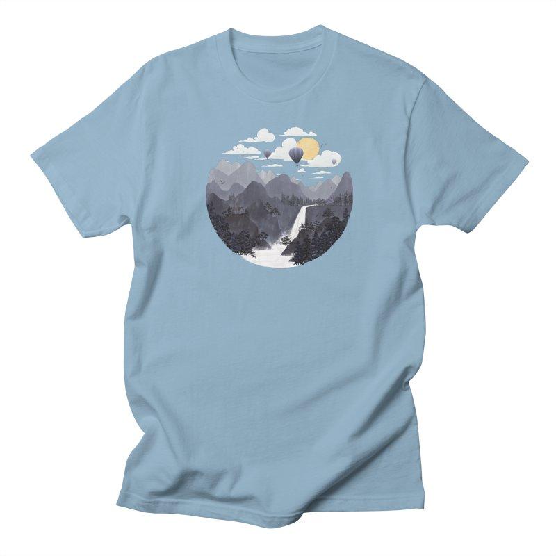 Roundscape II Men's T-Shirt by Fil Gouvea's Artist Shop